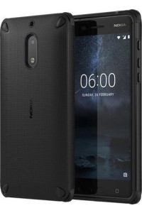 Nokia CC-501 Original Rugged Impact Case Nokia 6 μαύρου χρώματος