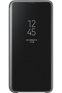 Samsung Original EF-ZG960CBEGWW Clear View Cover Galaxy S9 G960 Black