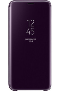 Samsung Original EF-ZG960CVEGWW Clear View Cover Galaxy S9 G960 Violet