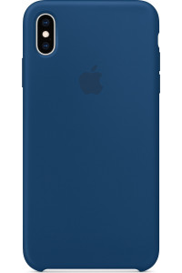 Apple Original MTFE2ZM Silicone Case iPhone XS MAX Blue Horizon