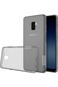 Θήκη Nillkin Nature TPU για Samsung Galaxy A8 Plus A730 grey
