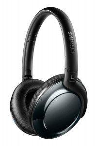 Philips Flite Everlite SHB4805DC Wireless Bluetooth Headphones with Mic, Remote Control, Foldable - Black