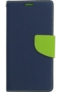 Θήκη Fancy Diary για Huawei Honor 7 Lite 5C navy lime