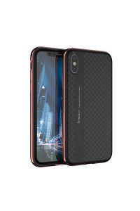 Θήκη iPaky Bumblebee Neo Hybrid cover with PC Frame για iPhone X red
