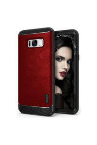 Θήκη Ringke Flex S Stylish Flexible Hybrid Cover για Samsung Galaxy S8 Plus G955 red