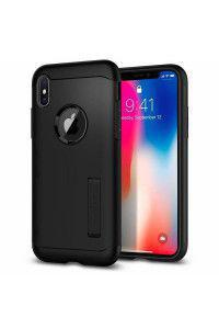 Spigen Slim Armor iPhone X black 057CS22138
