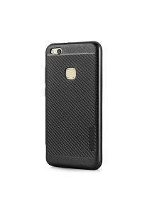 Θήκη OEM Carbon Slim Armor Hybrid Case Rugged Cover Huawei P10 Lite μαύρου χρώματος