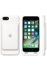 Apple Original MN012ZM/A Smart Battery Case για iPhone 7 λευκού χρώματος blister