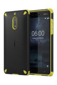 Nokia CC-501 Original Rugged Impact Case Nokia 6 lemon black