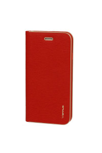 Θήκη OEM Vennus Book with Frame για Xiaomi Mi 8 Lite red ( θήκη για κάρτα, stand)