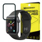 Wozinsky Tempered Glass Full Glue Full Coveraged with Frame Case Friendly for Apple Watch 4 40mm black